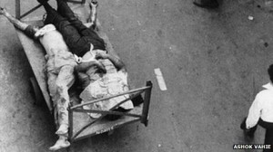 Anti-Sikh riots in Delhi in 1984 Nearly 3,000 Sikhs were killed after the assassination of then PM Indira Gandhi by her two Sikh bodyguards in October 1984
