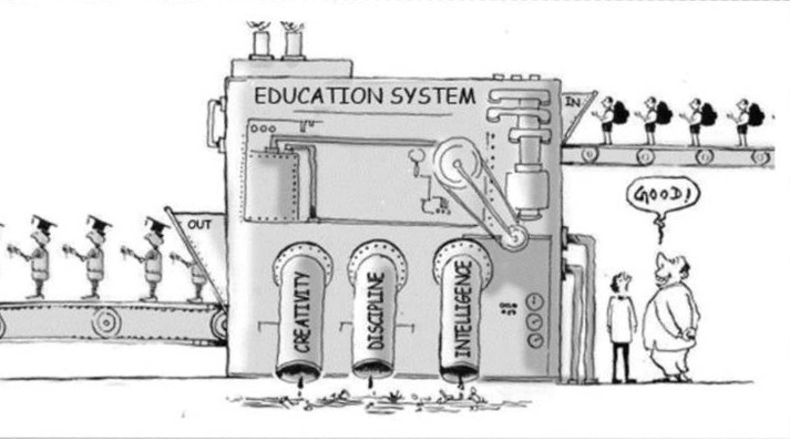 Indian Education System-Intellectual to dumb students converter