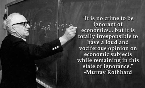 rothbard-on-ignorance-in-economics