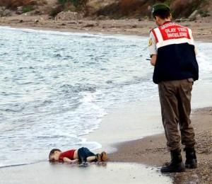 Aylan Kurdi, 3 year child, became a part of madness called 'war'.